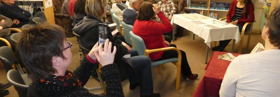 Gruß an die Besucher meiner Lesung in Arnsdorf